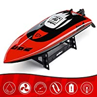 Cheerwing 无刷遥控船适合成人和儿童,40 千米/小时快速遥控船适用于游泳池和湖泊