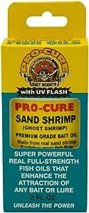 Pro-Cure Sand Shrimp (Ghost Shrimp) Bait Oil, 2-Ounce