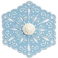 Sizzix Bigz Die - Eileen Hull 创作心形花层 Snowflake #4 657366