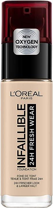 L'Oréal Paris 巴黎欧莱雅 Infaillible 24H Fresh Wear 粉底液 30 ml