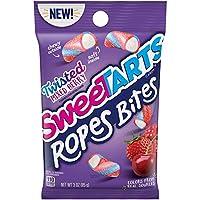 SweeTARTS Ropes Bites 扭曲混合浆果味 3盎司(85克)12包