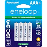 Panasonic松下 BK-4MCCA4BA Eneloop爱乐普 AAA 2100 循环镍氢预充电电池 4支装
