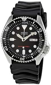 [精工import]SEIKO 手表 再进口 海外款 黑色 SKX007KC 男士