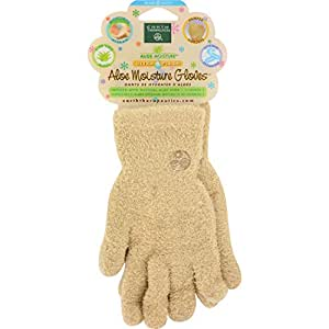 Earth Therapeutics Gloves Aloe Ultra Tan Pair
