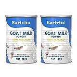 年中促 【2罐装】Karivita 新西兰进口羊奶粉 高钙全脂羊奶粉450g/罐
