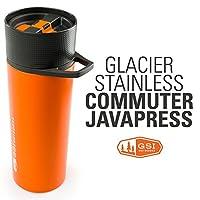 GSI Glacier Stainless Commuter Javapress 真空保温过滤杯 6732
