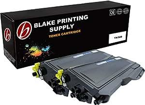 Blake Printing Supply 兼容硒鼓替换件 适用于兄弟 TN330 TN360 DCP-7040 DCP-7045N HL-2140 HL-2150N HL-2170W MFC-7340 MFC-7345N MFC-7440N MFC-7840W 高产量 2组 黑色