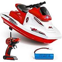Force1 遥控 WaveRunner 泳池和湖泊摩托艇 红色