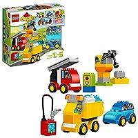 LEGO 乐高  拼插类 玩具  DUPLO 得宝系列 我的第一组汽车与卡车套装 10816 1½-5岁 婴幼