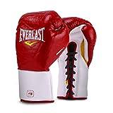 Everlast Mx Pro Fight 手套,283.5 克,红色 Mx Pro Fight 手套