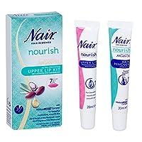 Nair - 天然摩洛哥坚果油 - 上唇套装 - 20ml