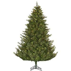 Vickerman 45' Unlit Modesto 混合松木人造圣诞树 Clear Dura-lit Lights 4.5' A140646