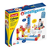 Quercetti - Cuboga Maxi:用立方体构建神奇活塞,颜色 I 内部零件 颜色:红色、蓝色、黄色、白色和透明