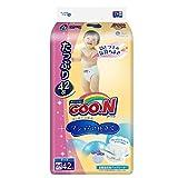 GOO.N 大王 棉花糖系列 纸尿裤 增量装 加大号XL42片(适合12-20kg ) (日本原装进口,超薄透气)