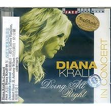 进口CD:流行爵士乐天后/戴安娜克劳 Diana Krall in Concert(CD)JHR73647