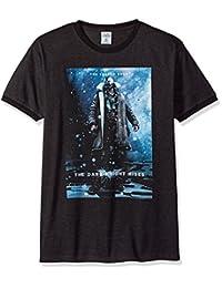 Trevco Men's Batman Dark Knight Rises Bane Poster Ringer T-Shirt