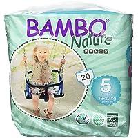 BAMBO 班博 自然系列 进口婴儿拉拉裤 尿不湿 学步裤 5号 L码20片12-20kg(丹麦进口)(进口)