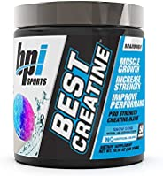BPI Sports Best Creatine with Himalayan Salt, 10.58 Ounce - Snow Cone