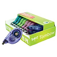 Tombow Mono 复古矫正带 10-Pack (Assorted Colors)