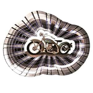 Iron Stop Designer 摩托车风车 6.5-Inch D275-6.5