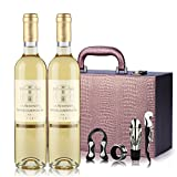30年老藤葡萄  法国苏玳产区AOC 贵腐甜白葡萄酒 12月橡木桶 500ml*2 (双支礼盒装)(法国进口葡萄酒)