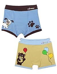 Boys Boxers 幼儿训练内裤 带易拉提提手