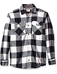 牧马人 authentics 男式长袖格子羊毛衬衫