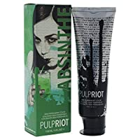 Pulp Riot Semi-Permanent Hair Color for Unisex, Absinthe Green, 4 Ounce