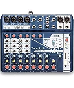 Soundcraft 声艺 Notepad-12FX 12路带声卡带效果便捷式调音台