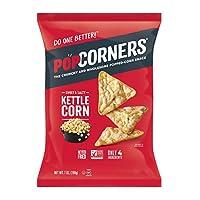 PopCorners Kettle玉米花零食,不含麩質,198.1克袋裝(12袋)-包裝可能不同