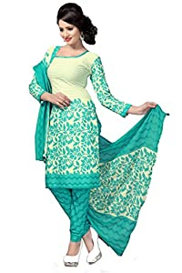Vaamsi Women's Blended Suit (crystal1024_White)
