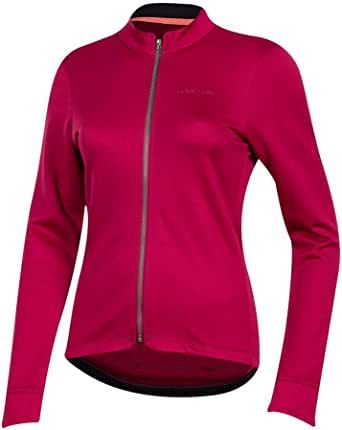 PEARL IZUMI 女士 PRO 美利奴保暖自行车运动衫,甜菜红,XS 码