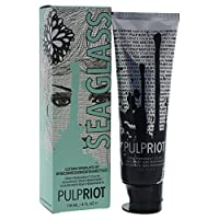 Pulp Riot Semi-Permanent Hair Color for Unisex, Sea Glass Light Green, 4 Ounce