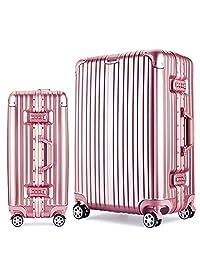 JamayZeyliner 佳美吉利亚 铝镁合金框PC箱出国旅行箱拉杆箱登机箱托运箱万向轮6012