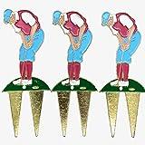 草皮修理工具灯笼裤Hogan Hat Golfer 3 件装
