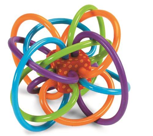 Manhattan Toy 曼哈顿玩具 Winkel摇铃和感官牙胶玩具