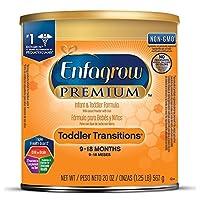 Enfagrow 美赞臣安儿宝 PREMIUM Non-GMO 婴幼儿过渡期配方奶粉 单罐装,20盎司/567克