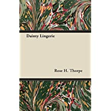 Dainty Lingerie (English Edition)