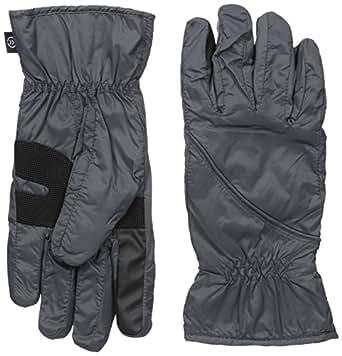 Isotoner 男士 NeverWet smarTouch 可折叠手套 炭黑色 Small/Medium