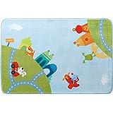 HABA 儿童房间装饰小地毯城市旅游玩具