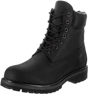 Timberland 男士6英寸优质系鞋带靴子