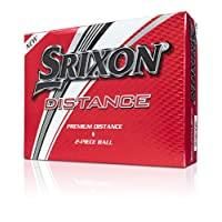 Srixon Distance 高尔夫球,软白色,十一打(2017/18 版)