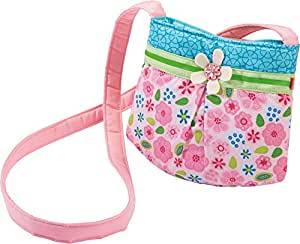 HABA 3999 小精灵手袋 适合两岁以上女孩的精美儿童包 小单肩包采用聚酯纤维 配有迷人的花朵图案 磁铁搭扣 生日礼物佳选