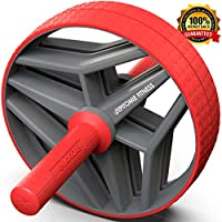 Epitomie Fitness BIO Ab 滚轮 - Ab Carver 健身设备与健身垫加强腹部及音调