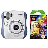 Fujifilm 富士 拍立得 Mini 26 +彩虹胶片套装 - 蓝/白