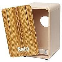 Sela CaSela 鼓 Cajon 系列套装 缎面 坚果 SE 002 精致表面 鼓可拆卸