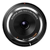 Olympus 9mm f8.0 鱼眼镜头 BCL-0980适用于微4/3相机 - 国际版(无保修)