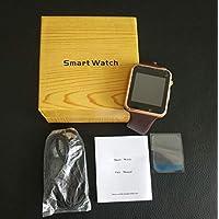 Rorsche 智能手表 成人儿童可打电话手表手机 彩屏触控 锌合金不锈钢表框 双向通话 基站定位 高清摄像头 运动计步 睡眠监测 手表闹钟 支持移动联通SIM卡 1.54寸LCD高清触摸彩屏 支持32G内存卡 W87 (金色表框+棕色表带)