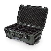 Nanuk 935 Case with Padded Divider (Olive)