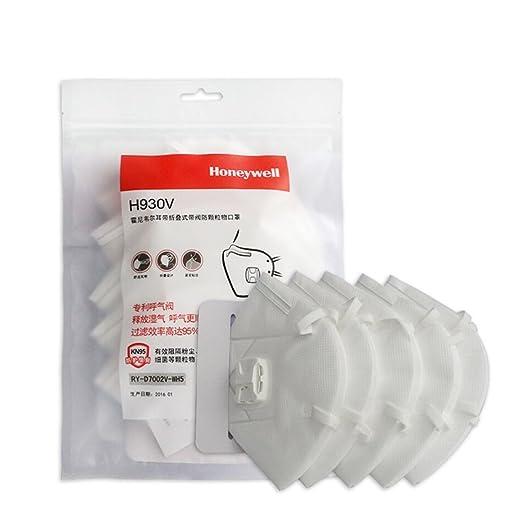 霍尼韦尔防护口罩/防尘防雾霾防pm2.5/带呼吸阀透气 H930V